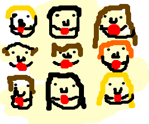 9gag derp goes to reddit - Drawception