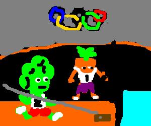 veggie olympics