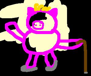 Tap-dancing spider pig