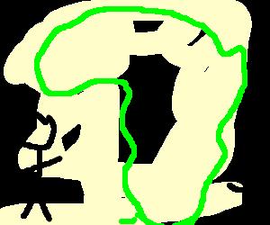 Africa gets between two people