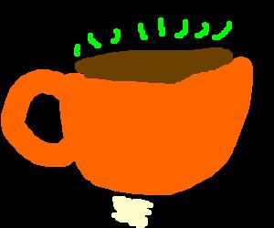 Poo-flavored tea
