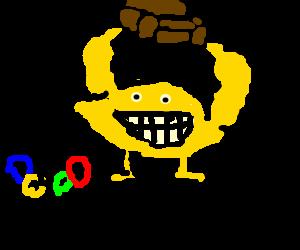 lemon on Olympic winning Simpson's couch