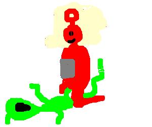 Teletubby Green