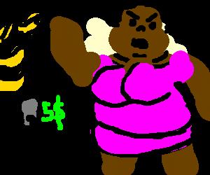 Black Cranky Kong