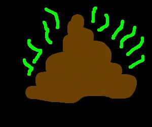 Smelly turd