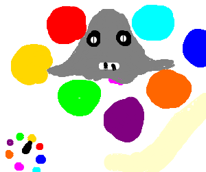Ghosts Play A Game of Twister