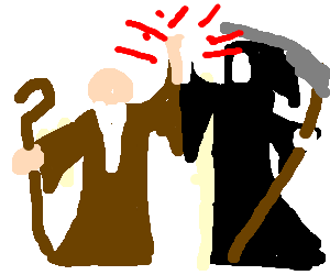 Moses and Death hook up