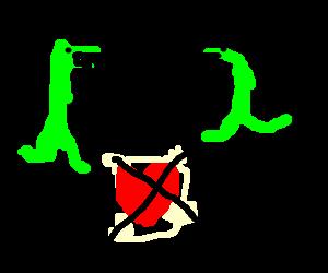 Forbidden dinosaur love