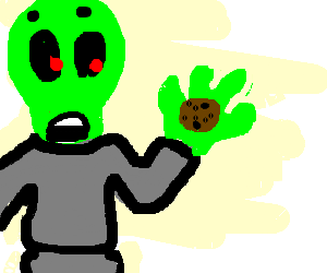 Martian stole a cookie