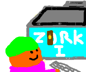 kid plays zork