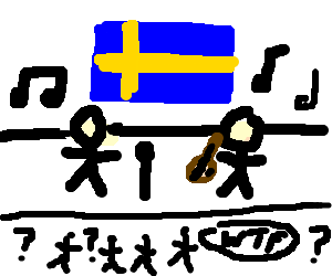 Swedish music is confusing!