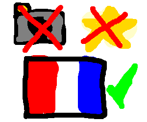 The French aren't cameras nor stars