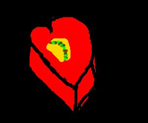 Valentine's Gift Taco.