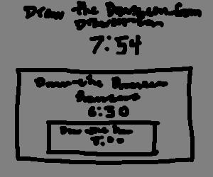 Draw the Drawscreen from Drawception