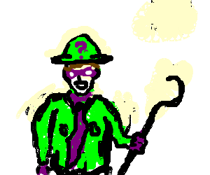 Edward Nigma becomes The Riddler