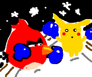 Angry birds Vs Pokemon