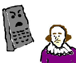 Cheesegrater fed up with Shakespeare
