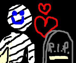 zebra man LOVES gravel!