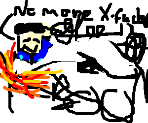 Simon Cowell crash landing