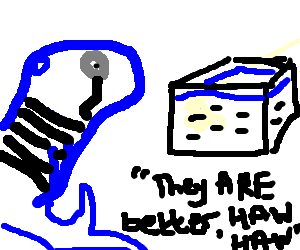 Fancy French whale prefers minnows