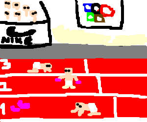 Children's Olympics (for/drawn by...)