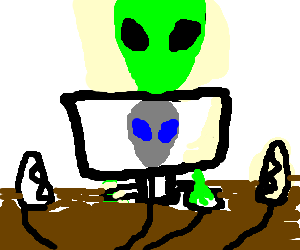 Aliens use Alienware