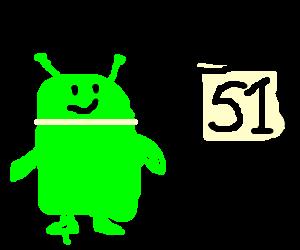 Little green man uses Alienware @ Area 51