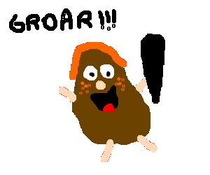 captain caveman as a ginger