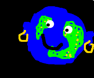 Earth has earings... I think