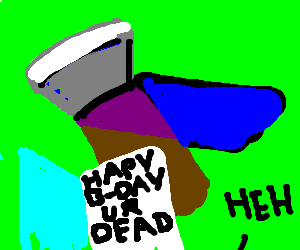 The worst birthday card drawception a cruel happy birthday greeting card m4hsunfo