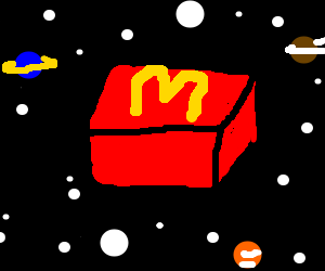 McDonald's in space
