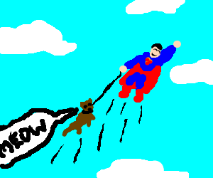 Superman's Cat
