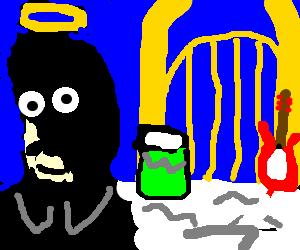 Freddy Mercury in Music Heaven