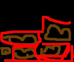 bake bean wall