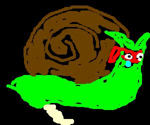 Mutant Ninja Snail crying