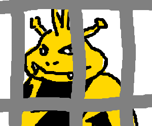 Electabuzz in solitary confinement