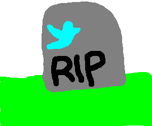a tweet died, and was buried