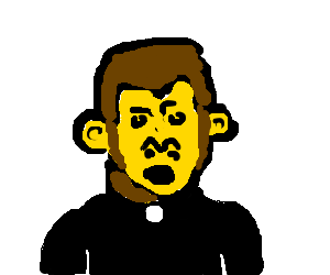 Hasil gambar untuk monkey priest