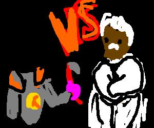 Gordon Freeman VS Morgan Freeman(playing as god)
