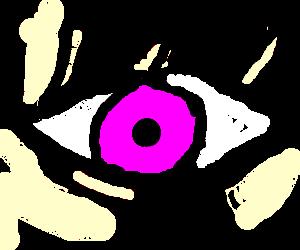 pinkeye with long lashes