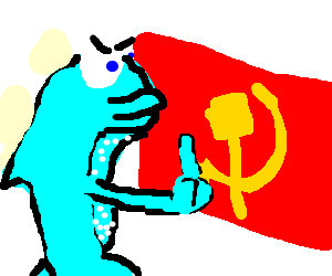 Fish disagrees with communism