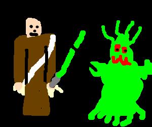 obiwan versus alien
