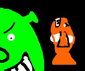 Shrek is best friends with Nemo