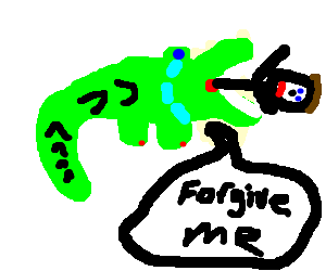 croco hates eating a child