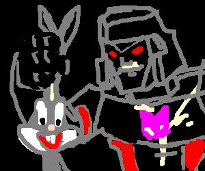 Megatron goes rabbit hunting
