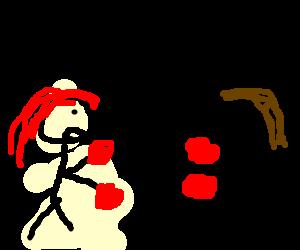 Women settle score by boxing