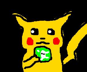 Pikachu eats poisoned cookies