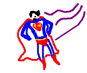 superman turns to cyclops