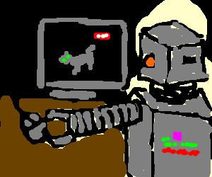 Robot on YouTube