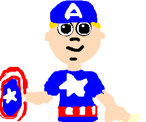 captain america's early years